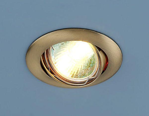 Точечный светильник 104S MR16 SB бронза