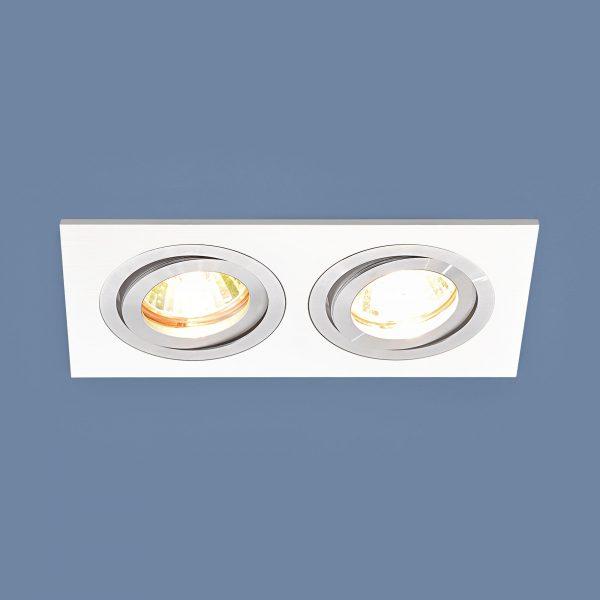 Точечный светильник 1051/2 WH белый