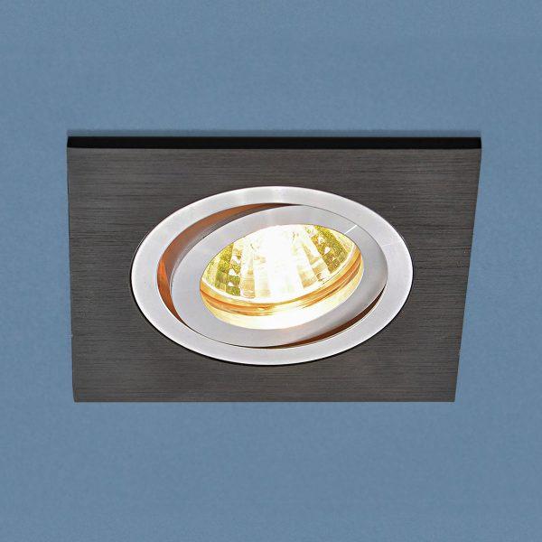 Точечный светильник 1051/1 BK черный