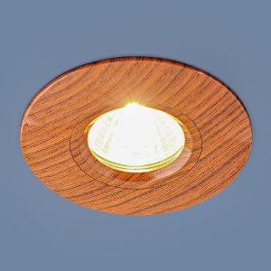 Точечный светильник 108 MR16 BR дуб