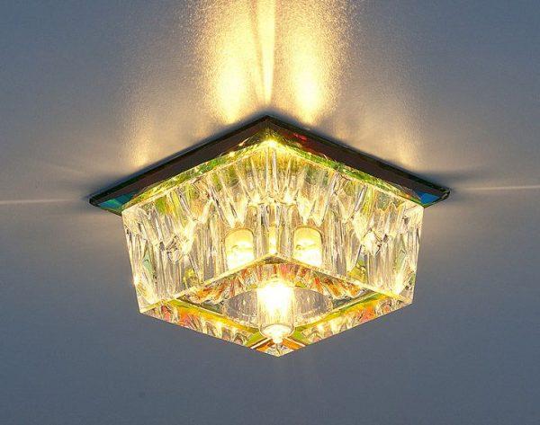 Точечный светильник 121 G9 Color перламутр