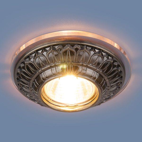 Точечный светильник 6024 MR16 SB бронза