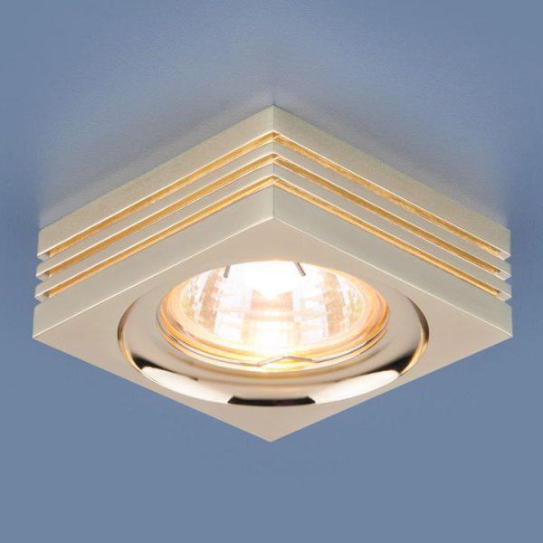 Точечный светильник 6064 MR16 GD золото
