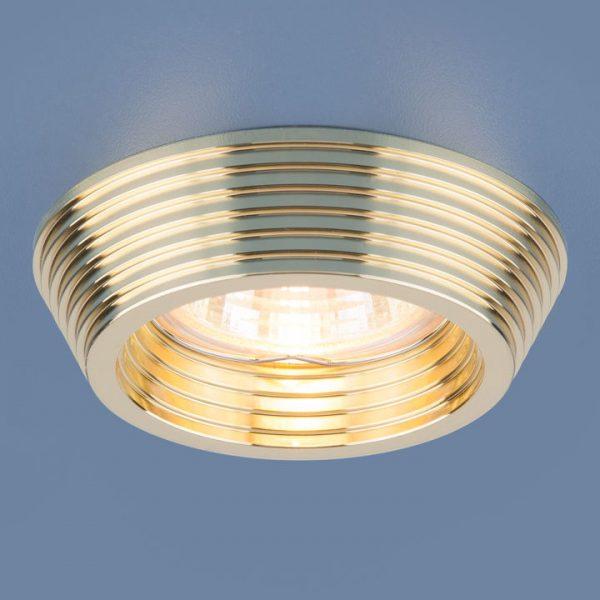 Точечный светильник 6066 MR16 GD золото