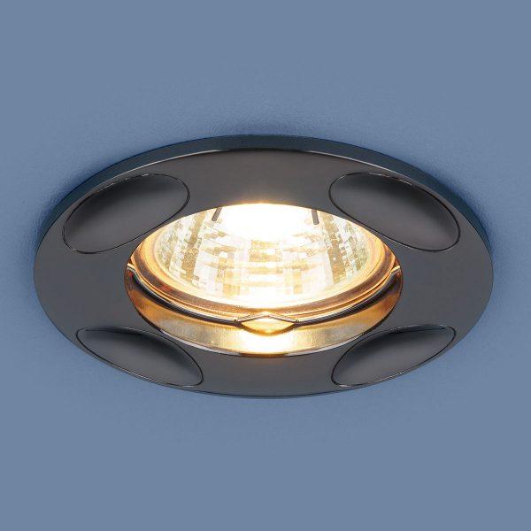 Точечный светильник 7008 MR16 GR графит