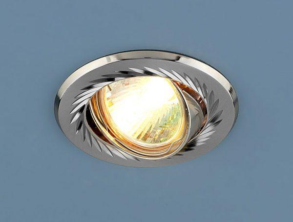Точечный светильник 704 CX MR16 SN/N сатин-никель/никель