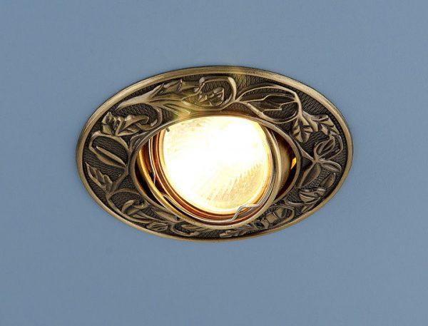 Точечный светильник 711 MR16 SB бронза