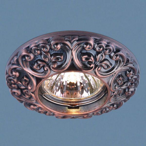 Точечный светильник 7216 MR16 RAB медь