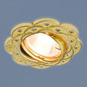 Точечный светильник 8006 MR16 GD/N золото/никель