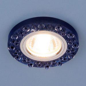 Точечный светильник 8260 MR16 SP/CH сапфир/хром