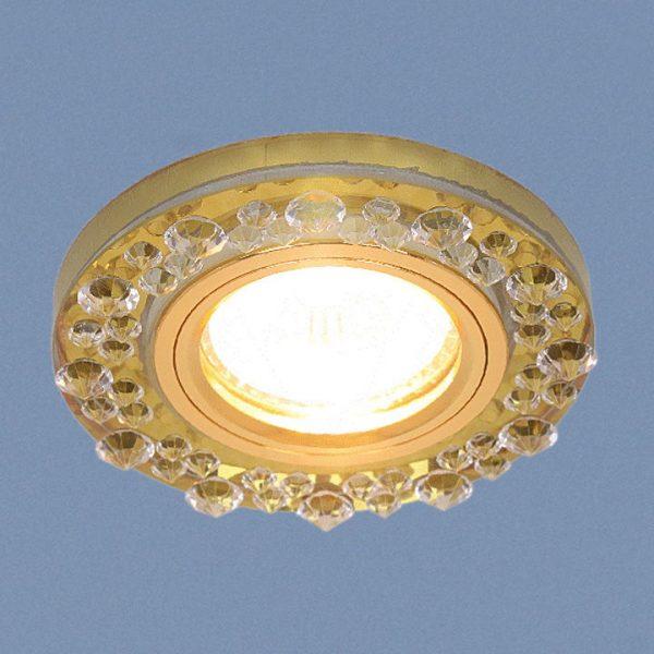Точечный светильник 8260 MR16 YL/GD зеркальный/золото