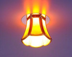 Точечный светильник 8375 SB/BROWN (бронза/коричневый)