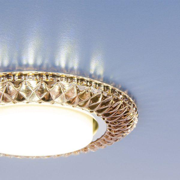 Точечный светильник со светодиодами 3020 GX53 GC тонированный 3
