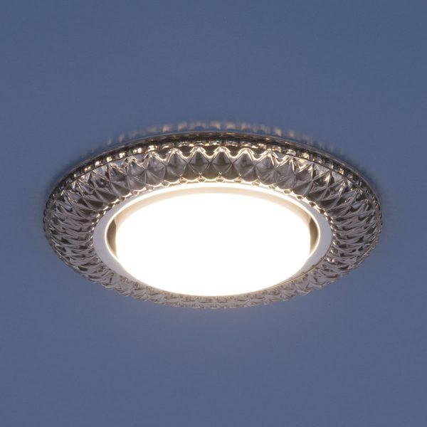 Точечный светильник со светодиодами 3020 GX53 SB дымчатый 2