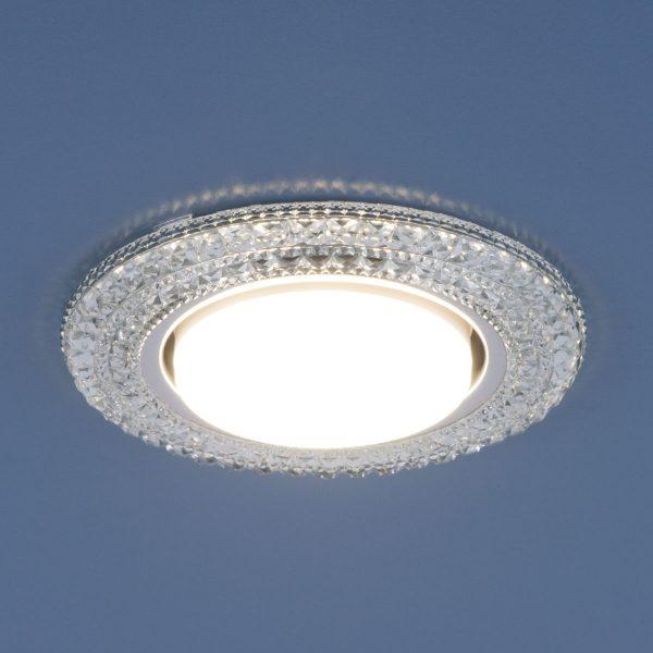 Точечный светильник со светодиодами 3030 GX53 CL прозрачный 1
