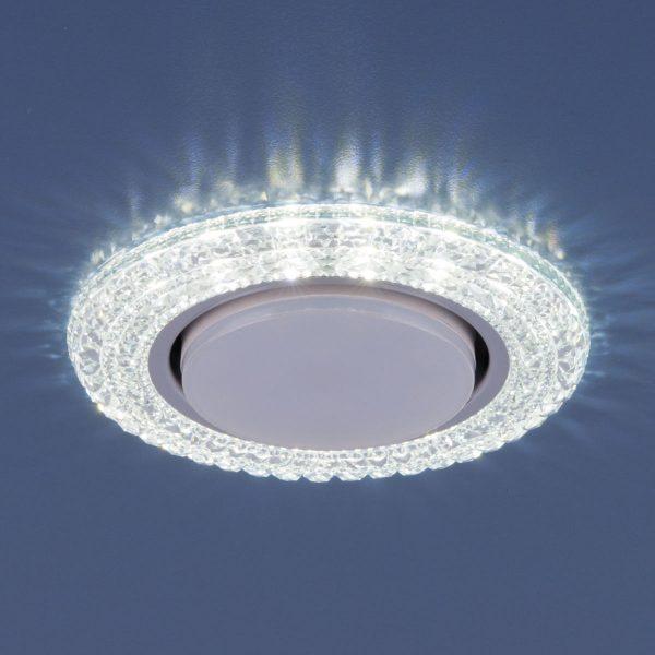 Точечный светильник со светодиодами 3030 GX53 CL прозрачный 2