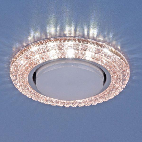Точечный светильник со светодиодами 3030 GX53 PK розовый 1