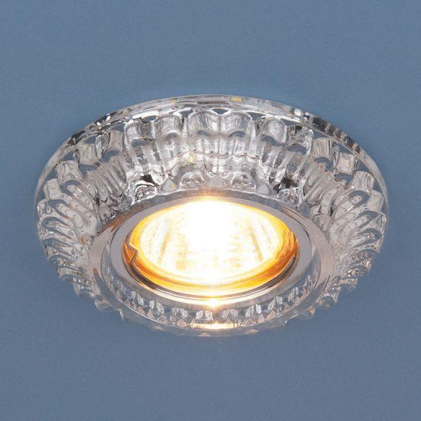 Встраиваемый точечный светильник с LED подсветкой 7247 MR16 CL прозрачный 2