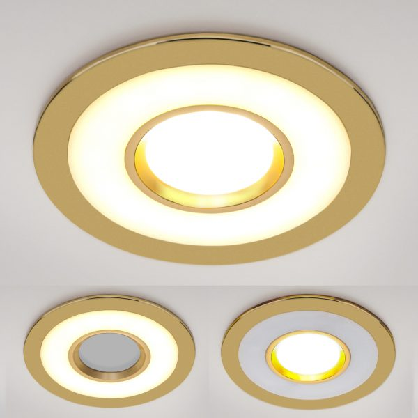 Точечный светильник светодиодный 1052 MR16 GD золото 1