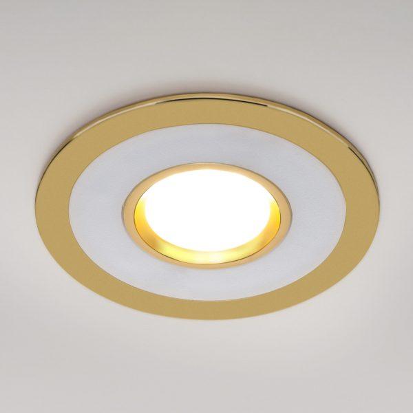 Точечный светильник светодиодный 1052 MR16 GD золото 4