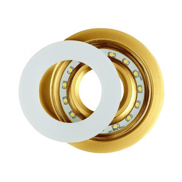 Точечный светильник светодиодный 1052 MR16 GD золото 5