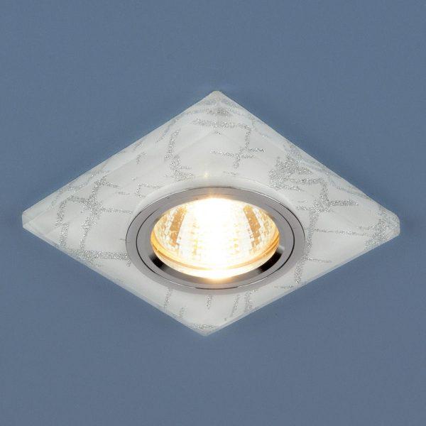 Точечный светильник светодиодный 8361 MR16 WH/SL белый/серебро 2