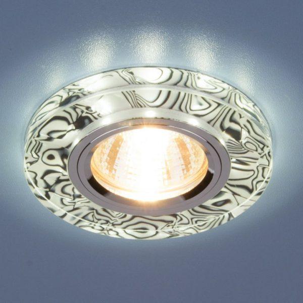Точечный светильник светодиодный 8371 MR16 WH/BK белый/черный