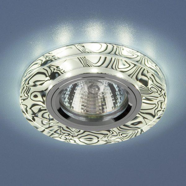 Точечный светильник светодиодный 8371 MR16 WH/BK белый/черный 1