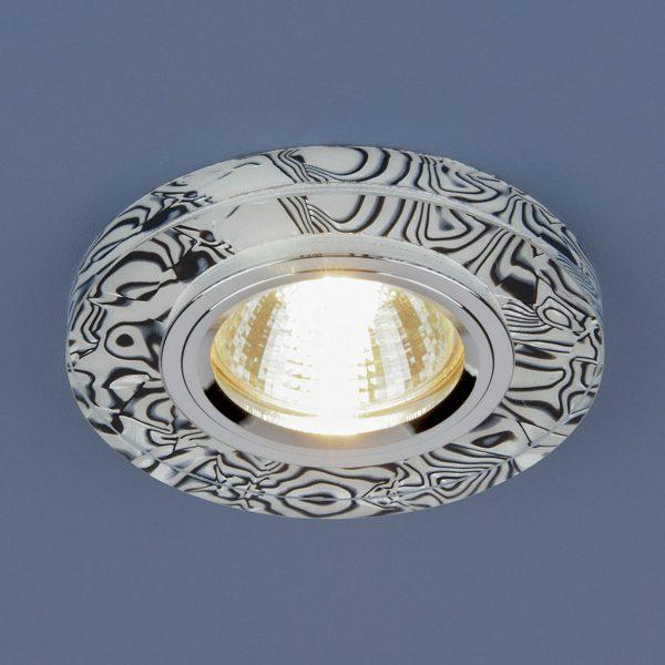 Точечный светильник светодиодный 8371 MR16 WH/BK белый/черный 2