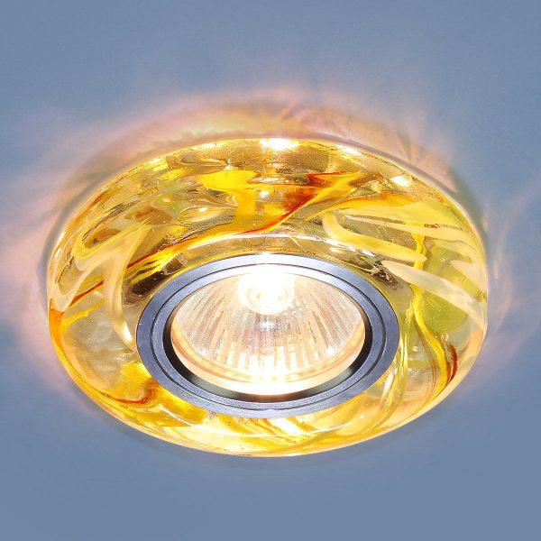 Точечный светодиодный светильник 2191 MR16 CL/YL/GR прозрачный/желтый/зеленый