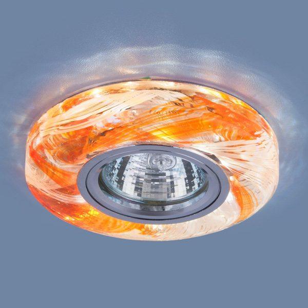Точечный светодиодный светильник 2191 MR16 OR оранжевый 1