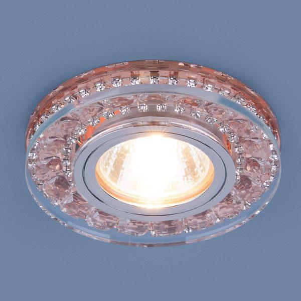 Точечный светодиодный светильник 2192 MR16 GD шампань 2