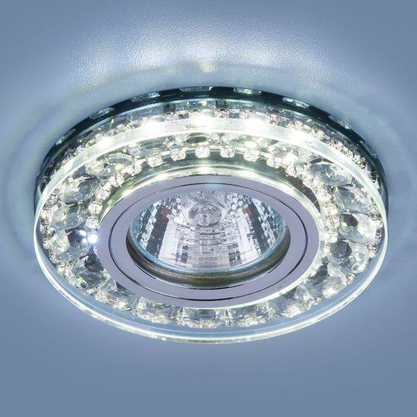 Точечный светодиодный светильник 2192 MR16 SBK дымчатый 1