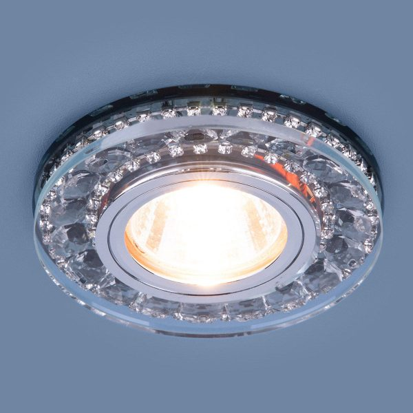 Точечный светодиодный светильник 2192 MR16 SBK дымчатый 2