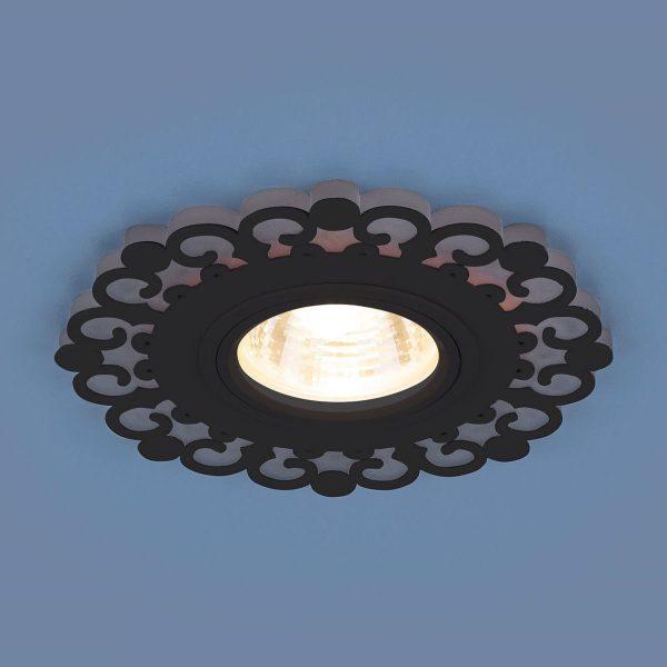 Точечный светодиодный светильник 2196 MR16 BK черный 2