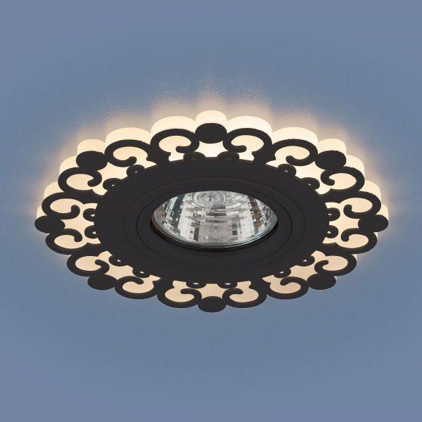 Точечный светодиодный светильник 2196 MR16 BK черный 1