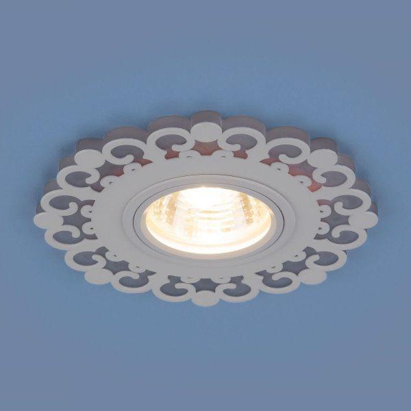 Точечный светодиодный светильник 2196 MR16 WH белый 2