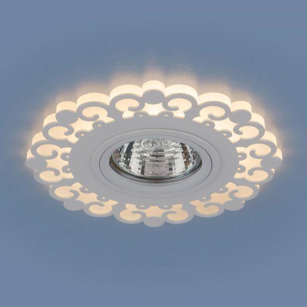 Точечный светодиодный светильник 2196 MR16 WH белый 1