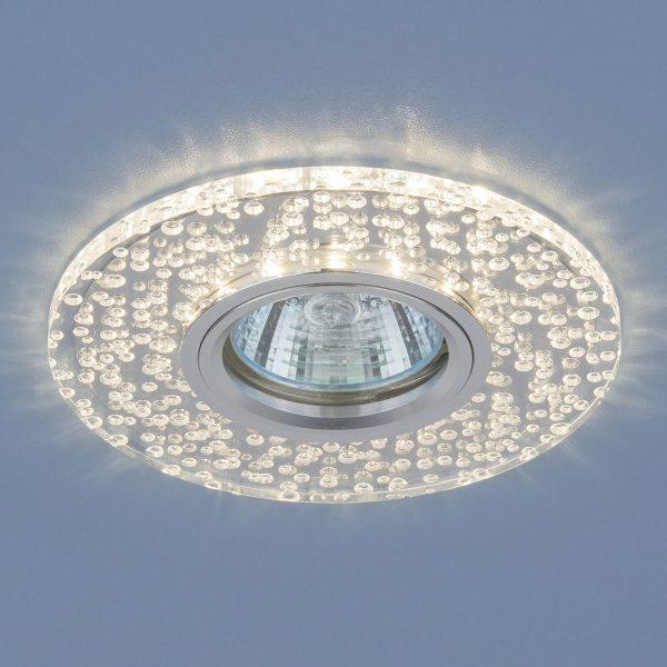 Точечный светодиодный светильник 2199 MR16 CL зеркальный/прозрачный 1