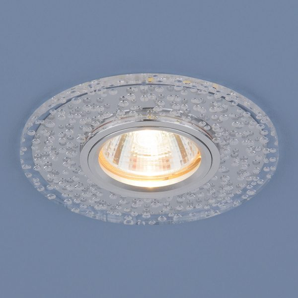 Точечный светодиодный светильник 2199 MR16 CL зеркальный/прозрачный 2