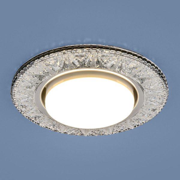 Точечный светодиодный светильник 3022 GX53 CL прозрачный 1