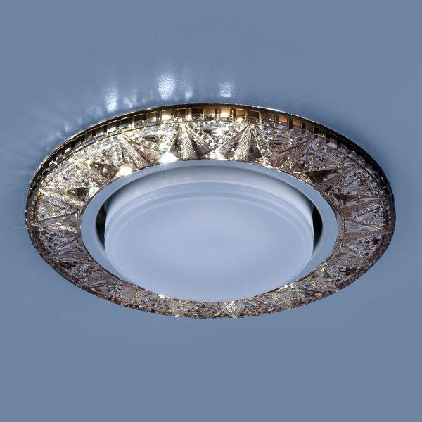 Точечный светодиодный светильник 3022 GX53 GC тонированный 1