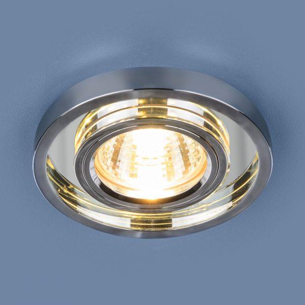 Точечный светодиодный светильник 7021 MR16 SL/CH зеркальный/хром