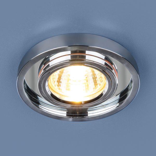 Точечный светодиодный светильник 7021 MR16 SL/CH зеркальный/хром 1
