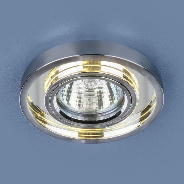 Точечный светодиодный светильник 7021 MR16 SL/CH зеркальный/хром 2
