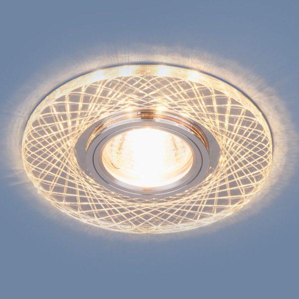 Точечный светодиодный светильник 8091 MR16 SL/CH зеркальный/хром
