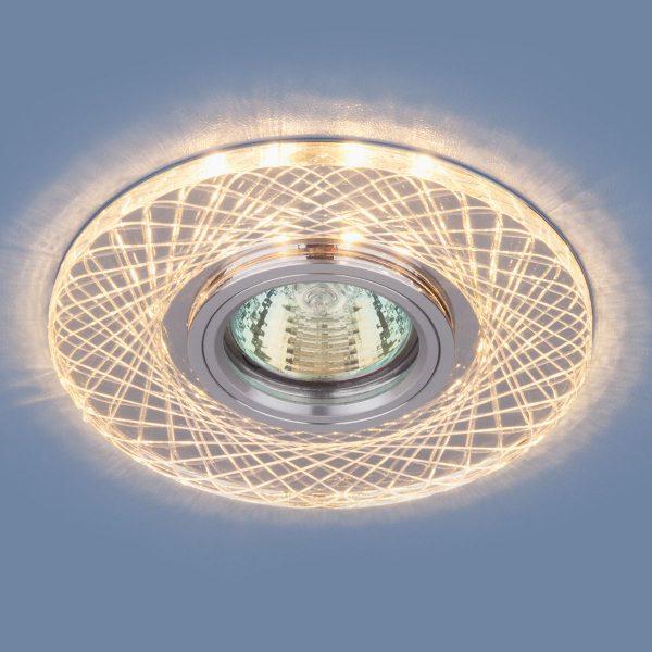 Точечный светодиодный светильник 8091 MR16 SL/CH зеркальный/хром 1