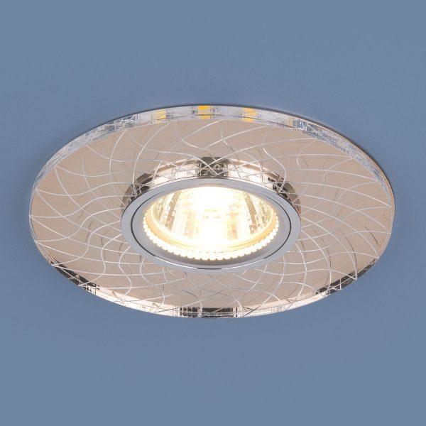 Точечный светодиодный светильник 8091 MR16 SL/GD зеркальный/золотой 2