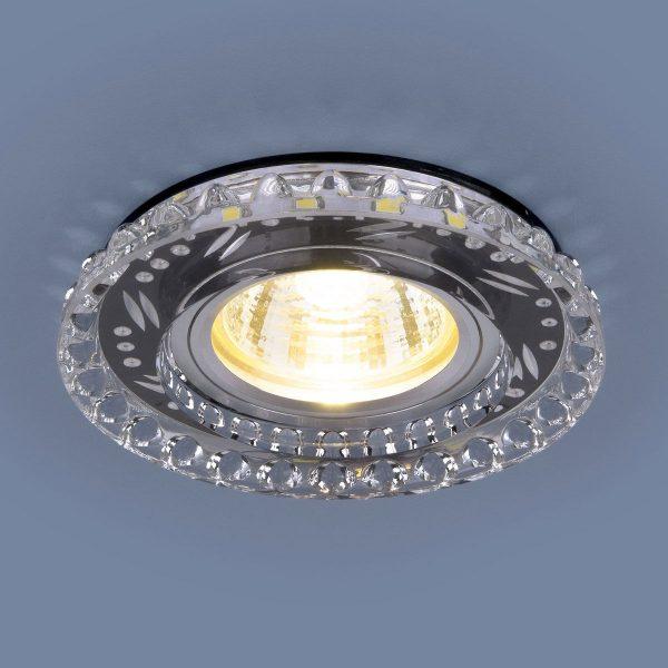 Точечный светодиодный светильник 8351 MR16 CL/BK прозрачный/черный 2