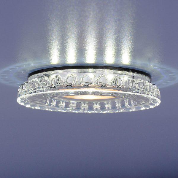 Точечный светодиодный светильник 8351 MR16 CL/BK прозрачный/черный 3